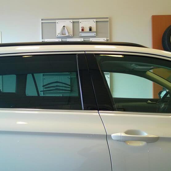 Auto ruit blindering 35% tint, riko reclame ede