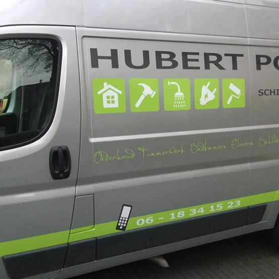 Autobelettering Hubert Polman Bennekom Arnhem riko reclame ede