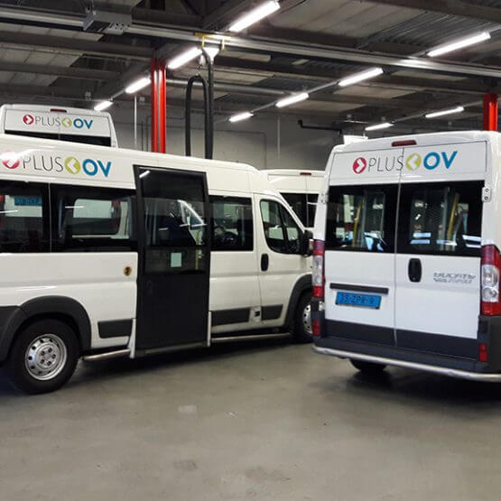 Fleetmarking Plus OV, riko reclame ede
