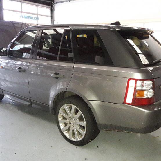 Raamblindering Range Rover Sport, riko reclame