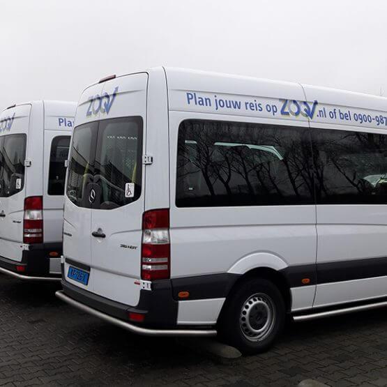 Vloot belettering ZOOV, riko reclame ede, www.riko-ede.nl